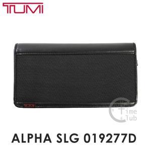 TUMI トゥミ ALPHA SLG 019277D 長財布 ラウンドファスナー ブラック メンズ