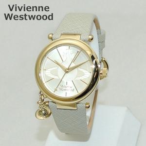 Vivienne Westwood (ヴィヴィアンウエストウッド) 腕時計 VV006GDCM クリーム系 レザー/ゴールド 時計 レディース ヴィヴィアン|timeclub