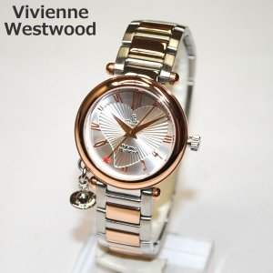 Vivienne Westwood (ヴィヴィアンウエストウッド) 腕時計 VV006RSSL ORB シルバー/ピンクゴールド 時計 レディース ヴィヴィアン タイムマシン|timeclub