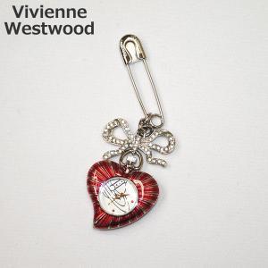 Vivienne Westwood (ヴィヴィアンウエストウッド) 時計 VV018WH Heart ハート ブローチ キーホルダー レディース ヴィヴィアン タイムマシン|timeclub