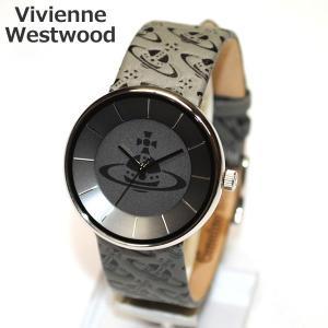 Vivienne Westwood (ヴィヴィアンウエストウッド) 腕時計 VV020SLBK SPIRIT グレー 時計 メンズ レディース ヴィヴィアン タイムマシン timeclub