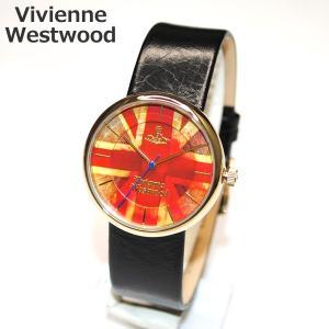 Vivienne Westwood (ヴィヴィアンウエストウッド) 腕時計 VV021UJBK 時計 メンズ レディース ユニオンジャック ゴールド ヴィヴィアン タイムマシン timeclub
