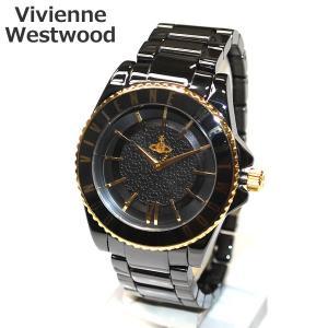 Vivienne Westwood (ヴィヴィアンウエストウッド) 腕時計 VV048GDBK ブラック/ゴールド 時計 メンズ レディース ヴィヴィアン タイムマシン timeclub