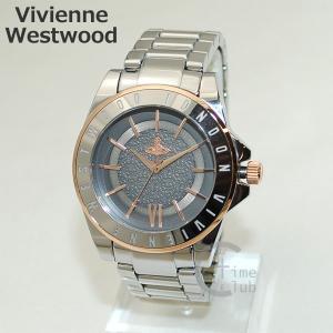 Vivienne Westwood (ヴィヴィアンウエストウッド) 腕時計 VV048GYSL シルバー/ゴールド 時計 メンズ レディース ヴィヴィアン タイムマシン timeclub