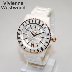 Vivienne Westwood (ヴィヴィアンウエストウッド) 腕時計 VV048RSWH ホワイト/ゴールド 時計 メンズ レディース ヴィヴィアン タイムマシン timeclub