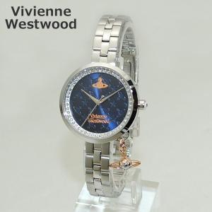 Vivienne Westwood (ヴィヴィアンウエストウッド) 腕時計 VV139NVSL 時計 ネイビー/ピンクゴールド/シルバー ブレス レディース ヴィヴィアン|timeclub