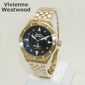 Vivienne Westwood (ヴィヴィアンウエストウッド) 腕時計 VV160NVGD ゴールド 時計 メンズ|timeclub