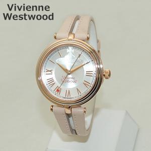 Vivienne Westwood (ヴィヴィアンウエストウッド) 腕時計 VV168SLPK ピンク レザー/ローズゴールド 時計 レディース ヴィヴィアン|timeclub