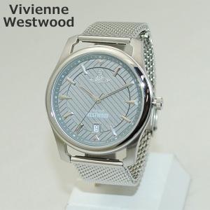 Vivienne Westwood (ヴィヴィアンウエストウッド) 腕時計 VV185GYSL 時計 シルバー ブレス メンズ ヴィヴィアン|timeclub