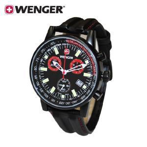 国内正規品・3年保証 WENGER(ウェンガー) 時計 腕時計 COMMANDO chrono コマンドー クロノ 70731XL メンズ・レディース|timeclub