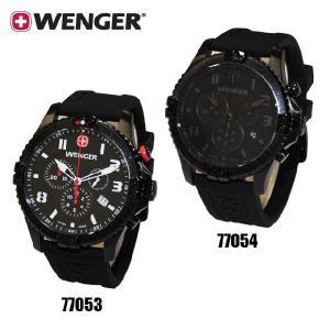 【国内正規品・3年保証】WENGER(ウェンガー) 時計 腕時計 Squadron chrono スクアドロン クロノ 77053 77054 メンズ・レディー|timeclub
