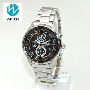 《》国内正規品 WIRED(ワイアード) 時計 腕時計 AGAV095 REFLECTION シルバー/ブラック|timeclub