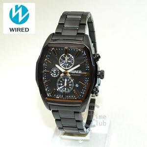 国内正規品 WIRED(ワイアード) 時計 腕時計 AGAV098 REFLECTION ブラック/ゴールド|timeclub