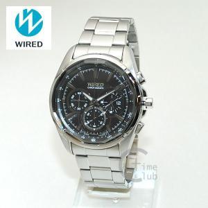 国内正規品 WIRED(ワイアード) 時計 腕時計 AGAV100 REFLECTION シルバー/ブラック|timeclub