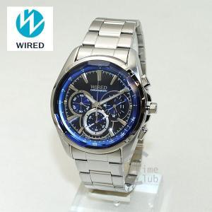 国内正規品 WIRED(ワイアード) 時計 腕時計 AGAV101 REFLECTION シルバー/ブルー|timeclub