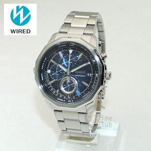 国内正規品 WIRED(ワイアード) 時計 腕時計 AGAW419 THE BLUE シルバー/ブルー|timeclub