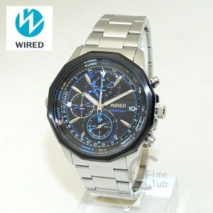 国内正規品 WIRED(ワイアード) 時計 腕時計 AGAW420 THE BLUE シルバー/ブルー|timeclub