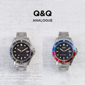 並行輸入品 CITIZEN シチズン Q&Q メンズ 腕時計 キッズ 子供 男の子 逆輸入 ダイバー チープシチズン チプシチ アナログ ブラック 黒 レッド 赤 ブルー 青|timelovers