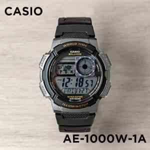 並行輸入品 CASIO カシオ デジタル 腕時計 メンズ レディース キッズ 子供 男の子 女の子 チープカシオ チプカシ 10年保証 送料無料 AE-1000W-1A|timelovers