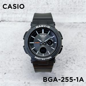 【並行輸入品】【10年保証】CASIO BABY-G カシオ ベビーG BGA-255-1A 腕時計 レディース キッズ 子供 女の子 アナデジ 防水 ブラック 黒|timelovers