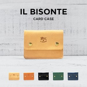 IL BISONTE CARD CASE イルビゾンテ カードケース C0956 名刺入れ カードケ...