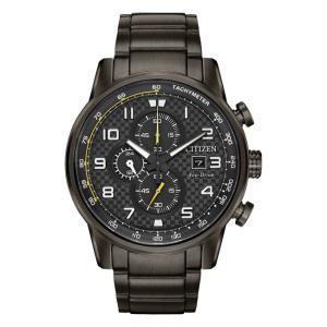 並行輸入品 10年保証 CITIZEN シチズン エコドライブ プリモ CA0687-58E 腕時計 メンズ 逆輸入 クロノグラフ アナログ ソーラー ブラック 黒 海外モデル|timelovers
