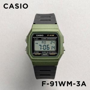 【並行輸入品】【10年保証】CASIO カシオ スタンダード F-91WM-3A 腕時計 メンズ レディース キッズ 子供 男の子 女の子 チープカシオ チプカシ デジタル ブラッ|timelovers