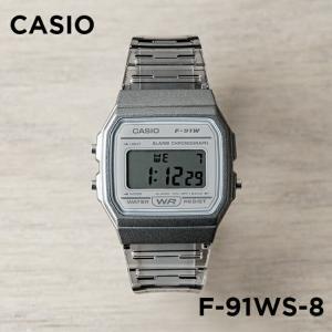 10年保証 日本未発売 CASIO カシオ スタンダード F-91WS-8 腕時計 メンズ レディー...