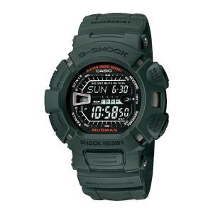 並行輸入品 10年保証 CASIO G-SHOCK カシオ Gショック マッドマン G-9000-3 腕時計 メンズ キッズ 子供 男の子 デジタル 防水 カーキ ブラック 黒 海外モデル|timelovers