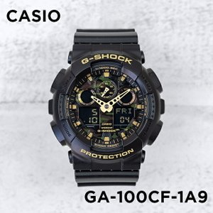 Gショック カシオ CASIO 腕時計 時計 G-SHOCK カモフラージュダイアル シリーズ CAMOUFLAGE DIAL SERIES アナデジ GA-100CF-1A9|timelovers