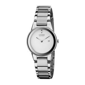 並行輸入品 10年保証 CITIZEN シチズン エコドライブ アクシアム GA1050-51A 腕時計 レディース 逆輸入 アナログ ソーラー|timelovers