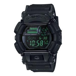 Gショック カシオ CASIO 腕時計 時計 G-SHOCK ミリタリーブラック シリーズ MILITARY BLACK SERIES GD-400MB-1|timelovers