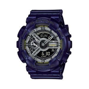 並行輸入品 10年保証 CASIO G-SHOCK カシオ Gショック Sシリーズ GMA-S110MC-2A 腕時計 メンズ キッズ 子供 男の子 アナデジ 防水 ネイビー シルバー 海外モデル|timelovers