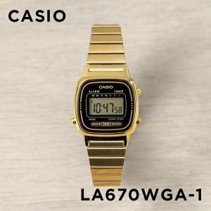 10年保証 送料無料 CASIO カシオ スタンダード レディース LA670WGA-1 腕時計 キ...