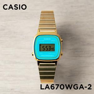 10年保証 送料無料 CASIO カシオ スタンダード レディース LA670WGA-2 腕時計 キ...