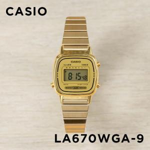 10年保証 送料無料 CASIO カシオ スタンダード レディース LA670WGA-9 腕時計 キ...