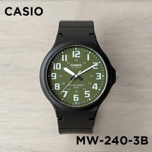 【並行輸入品】【10年保証】CASIO カシオ スタンダード メンズ MW-240-3B 腕時計 レディース キッズ 子供 男の子 女の子 チープカシオ チプカシ アナログ ブラッ|timelovers