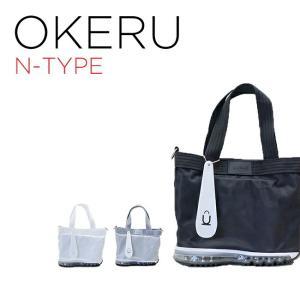 OKERU SHOES BAG オケル シューズバッグ N-TYPE バッグ かばん ブラック 黒 グレー ホワイト 白 トートバック ミニトート ランチバッグ ミニバッ timelovers