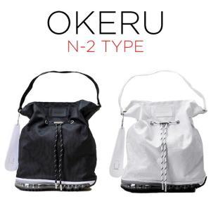 OKERU SHOES BAG オケル シューズバッグ N-2 TYPE バッグ かばん トートバック ミニトート ランチバッグ ミニバッグ 巾着バッグ ブラック 黒 ホワイト 白 timelovers
