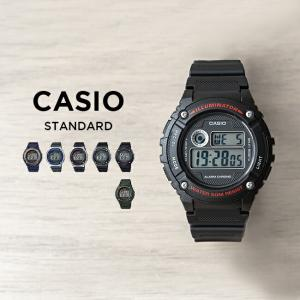 並行輸入品 CASIO カシオ W-216H SERIES 腕時計 10年保証 送料無料 メンズ レディース チープカシオ チプカシ デジタル シルバー|timelovers