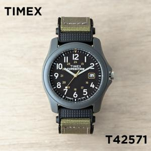 並行輸入品 TIMEX タイメックス エクスペディション キャンパー 39MM T42571 腕時計 メンズ ミリタリー アナログ グレー ブラック 黒 ナイロンベルト|timelovers