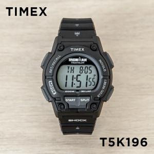 並行輸入品 TIMEX タイメックス アイアンマン オリジナル 30 ショック メンズ T5K196 腕時計 ランニングウォッチ デジタル ブラック 黒 グレー|timelovers