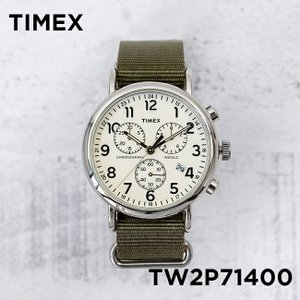 TIMEX WEEKENDER 40mm CHRONO タイメックス 腕時計 ウィークエンダー 40mm クロノ TW2P71400 timelovers