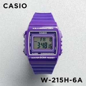 カシオ CASIO 腕時計 時計 チープカシオ チプカシ W-215H-6A|timelovers
