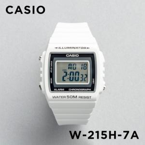 86d4f29e3d CASIO カシオ デジタル 腕時計 メンズ レディース キッズ 子供 男の子 女の子 チープカシオ チプカシ 10年保証 スタンダード  W-215H-7A