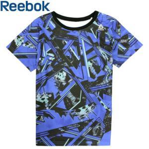 リーボック Reebok 半袖 Tシャツ 男の子 子供 キッズ ジュニア UVカット 紫外線対策 プリント|timely