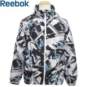 Reebok(リーボック) ウインドブレーカー 子供 キッズ ジュニア 男の子 薄手 フード付き ポケッタブル UVジャケット|timely