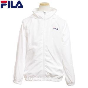 フィラ FILA ウインドブレーカー 子供 キッズ ジュニア 女の子 薄手 フード付き ポケッタブル UVジャケット|timely