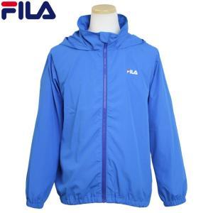 FILA(フィラ) ウインドブレーカー 子供 キッズ ジュニア 女の子 薄手 フード付き ポケッタブル UVジャケット|timely