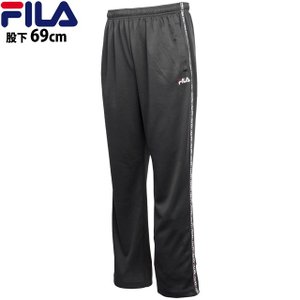 FILA(フィラ) ジャージ パンツ メンズ 男性 メッシュ ロングパンツ UVカット フィットネスウェア|timely